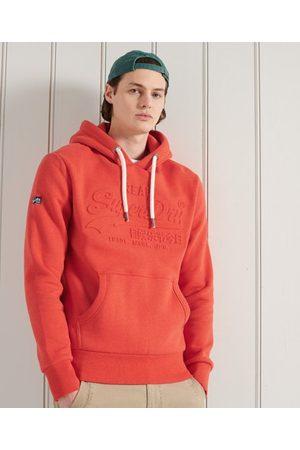 Superdry Heren Hoodies - Vintage Logo hoodie met reliëf