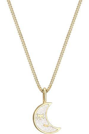 Elli Meisjes Juwelen - Sieraden 'Astro, Halbmond