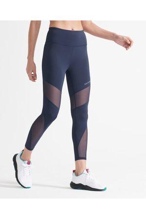 Superdry Sport 7/8 Training legging van mesh