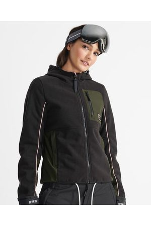 Superdry Dames Donsjassen - Sport Freestyle Tech jas van fleece
