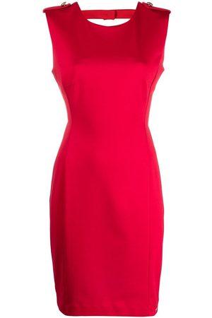 LIU JO Dames Feestjurken - Cut-out back fitted mini dress