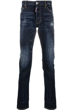 Dsquared2 Distressed-effect high-rise jeans
