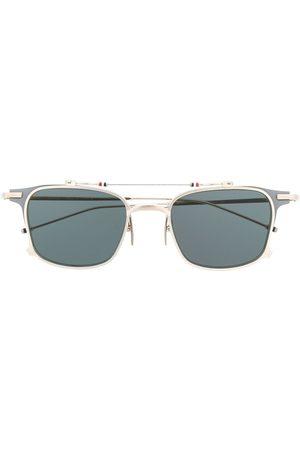 Thom Browne Zonnebrillen - TB817 Iron Clubmaster Sunglasses
