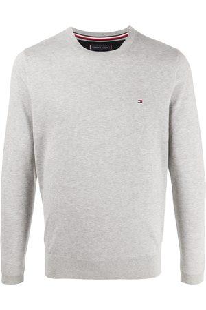 Tommy Hilfiger Heren Gebreide truien - Logo patch jumper
