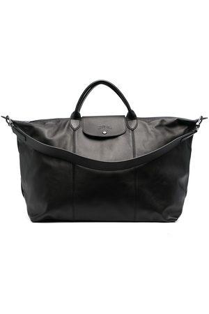 Longchamp Le Pliage Cuir large travel bag