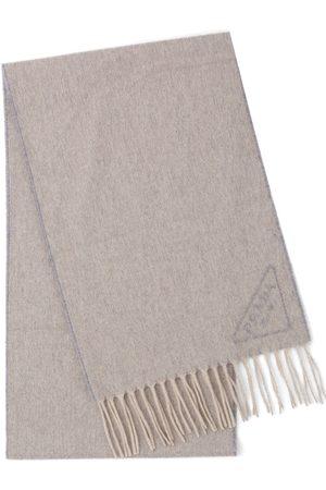 Prada Sjaals - Intarsia-logo scarf