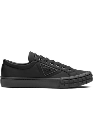 Prada Wheel Cassetta lace-up sneakers