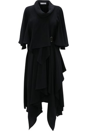JW Anderson Dames Asymmetrische jurken - Belted asymmetric dress