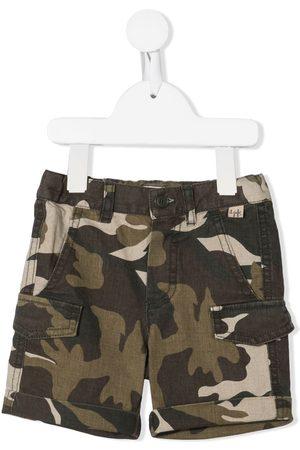 adidas Camouflage-print shorts