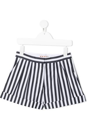 adidas Stripe-print tailored shorts