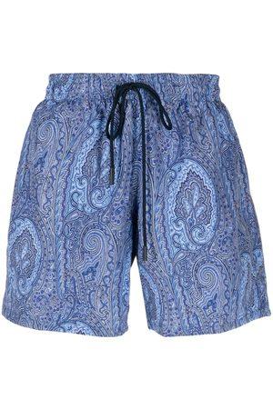adidas Paisley-print swim shorts