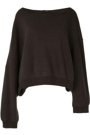 R13 Dames Sweaters - Patti off-shoulder sweatshirt