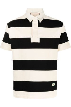adidas Horizontal-stripe polo shirt