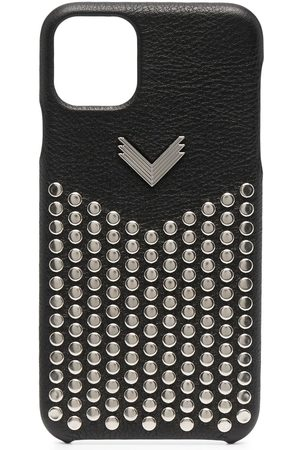 adidas Studded leather iPhone 11 Pro Max case