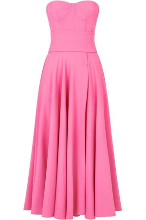 adidas Strapless mid-length dress