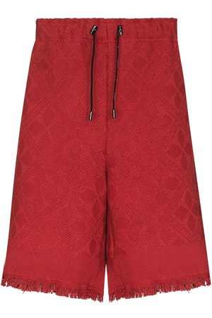 adidas Moon Salutation jacquard shorts