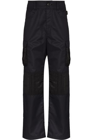 Marine Serre Heren Cargo's - Survival straight-leg cargo trousers