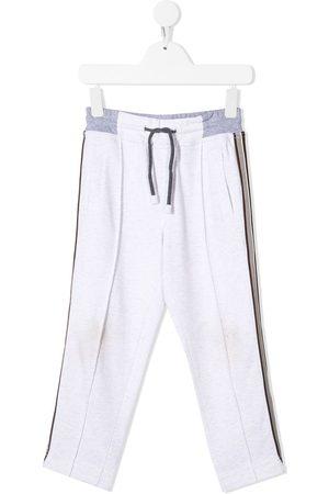 adidas Side-stripe drawstring trousers