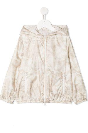 adidas Tone-on-tone print jacket
