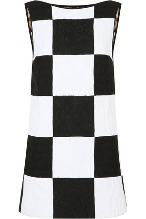 adidas Patchwork jacquard sleeveless dress