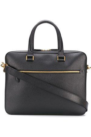 adidas Logo embossed business bag