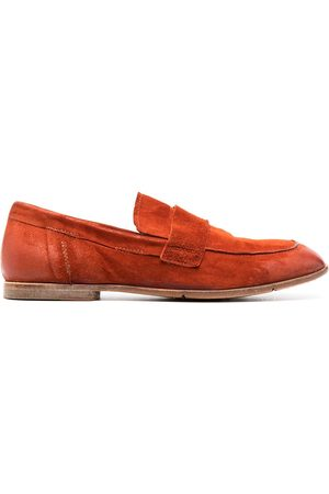 adidas Square-toe suede loafers