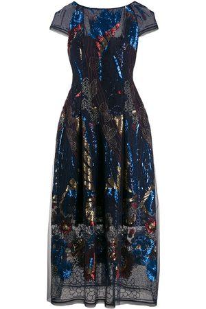 TALBOT RUNHOF Dames Feestjurken - Embellished midi dress