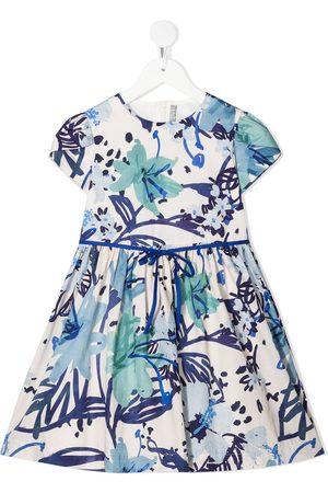 adidas Floral-print cotton dress