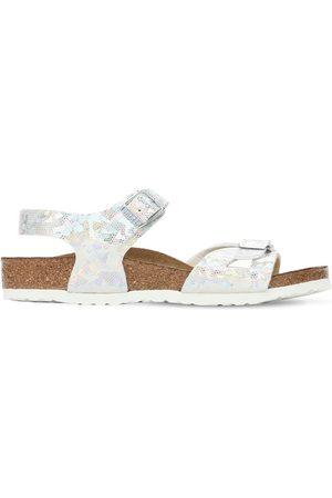 Birkenstock Meisjes Schoenen - Iridescent Faux Leather Sandals