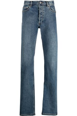 A.P.C. Heren Straight - Mid-rise straight-leg jeans