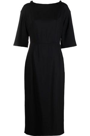 VALENTINO Bow-detail shift dress