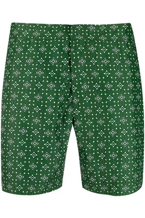 PENINSULA SWIMWEAR Geometric swim shorts