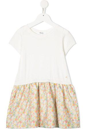 BONPOINT Floral-print organic cotton dress