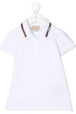 Gucci Meisjes Poloshirts - Web detail polo shirt