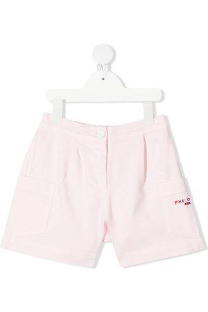 PHILOSOPHY DI LORENZO SERAFINI Mid-rise patch-pocket shorts