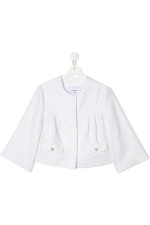 Dondup TEEN metallic bell-sleeves jacket
