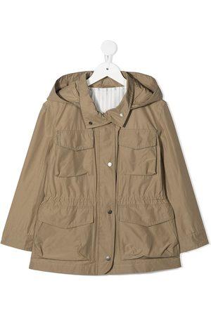Brunello Cucinelli Hooded field jacket