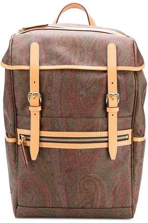 Etro Heren Rugzakken - Paisley print backpack