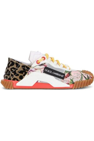 Dolce & Gabbana Patchwork low-top sneakers