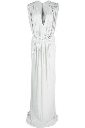Rick Owens Drape-design gown
