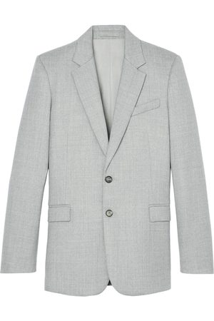 WARDROBE.NYC Single-breasted merino wool blazer
