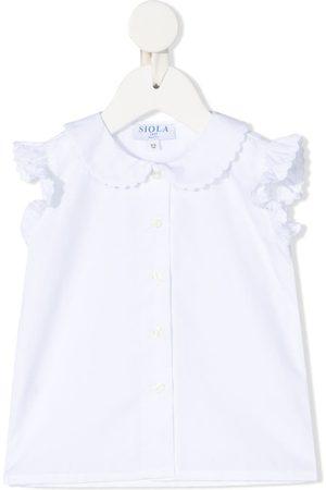 SIOLA Tops - Ruffle-detail sleeveless top