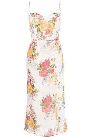 Reformation Kourtney floral-print dress