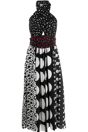 Dolce & Gabbana Polka dot halterneck dress