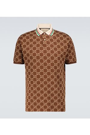Gucci GG stretch-cotton polo