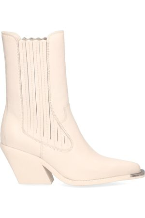 Bronx Dames Lage sneakers - Low-Kole Metal Toe Off-White