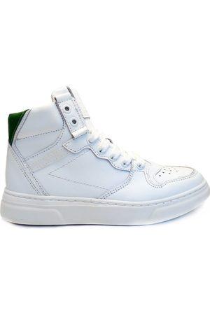 Hip Meisjes Veterschoenen - Veterschoenen white green combi