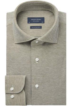 Profuomo Heren knitted overhemd Originale