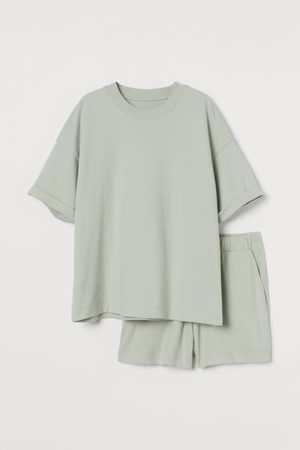 H&M Dames Pyjama's - Pyjama van katoentricot