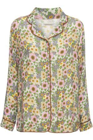 Underprotection Dames Pyjama's - Rania Printed Pajama Shirt